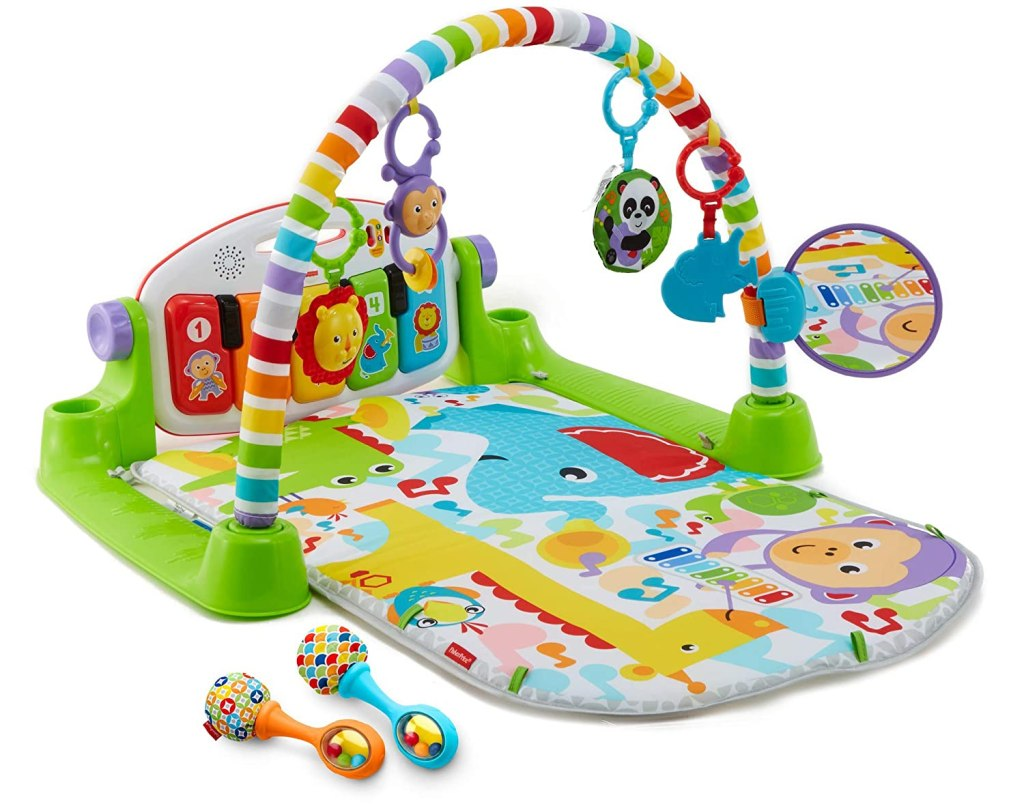 1. Baby Asher loves this playmat!- $39.88
