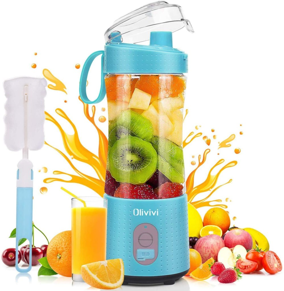 5. Portable blender- Perfect for that busy person who's trying to be healthy and under $20.00